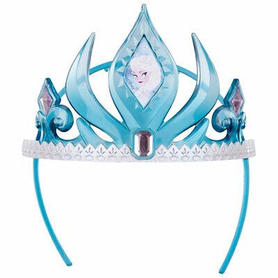rozen Krone Anna Elsa Blau Rosa Diadem Tiara Kostüm Mädchen (Disney Tiara)