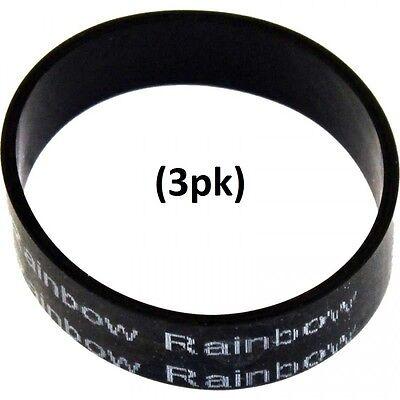 Genuine Rainbow Vauum Powernozzle Vacuum Belt  3Pk