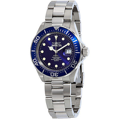 Invicta Pro Diver Blue Dial Mens Watch 17056