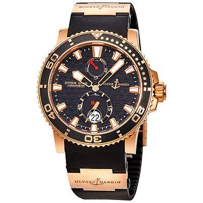 Ulysse Nardin Maxi Marine Diver Automatic Mens Watch 266-33-3A/922