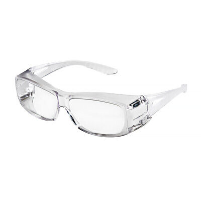 All Clear Fit Over Cover Most Safety Glasses Lab Shield Shatterproof Z87 963