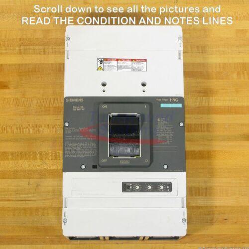 Siemens Hny3n120 Circuit Breaker, 1200 Amp, 65 Kair, New!