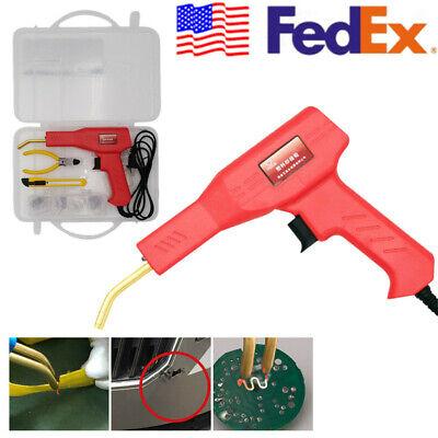 110V US Plug Plastic Welder Garage Tool Machine 50W Welding Repair Patching Set