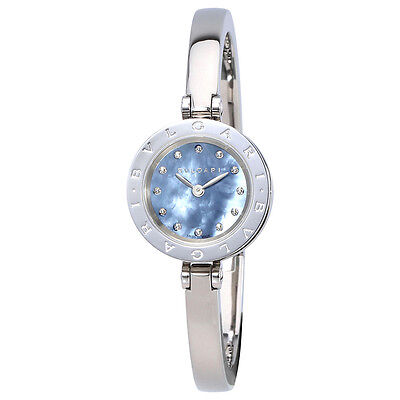 Bvlgari B.Zero 1 Blue Mother of Pearl Dial Ladies Watch 102473