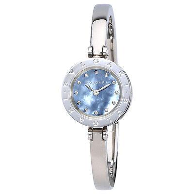Bvlgari B.Zero 1 Blue Mother of Pearl Dial Ladies Watch 102473
