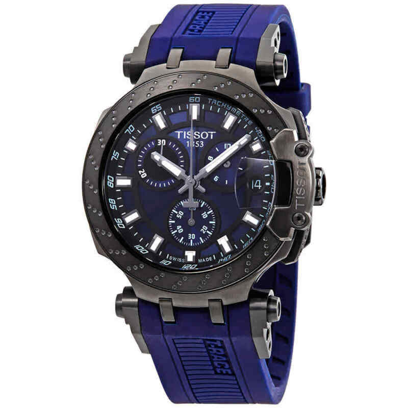 Tissot T-Race Chronograph Quartz Blue Dial Men Watch T1154173704100