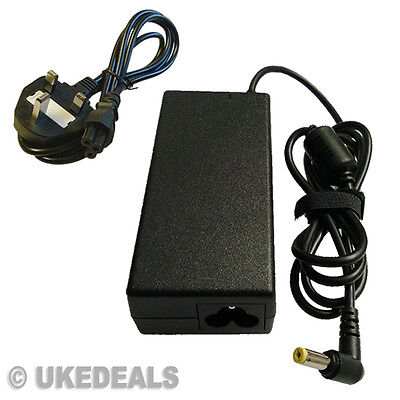 New Laptop AC Power Charger For 19v Acer LITEON PA-1700-02 + LEAD POWER CORD (Laptop Ac Power Cord)