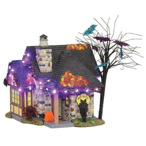 Dept 56 Halloween Village THE BAT HOUSE 6003157 Trick or Treat Lane NEW IN BOX