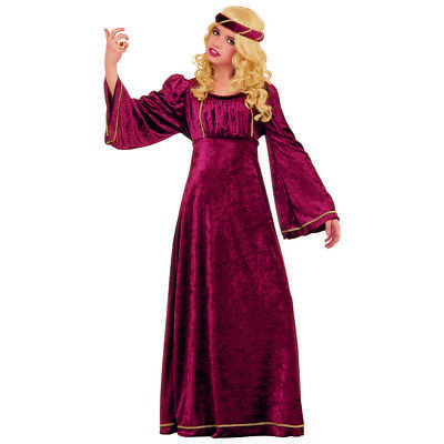 Mädchen Mittelalter Kostüm (KINDER MITTELALTER BURG KLEID Karneval Burgdame Burgfräulein Mädchen Kostüm 3712)