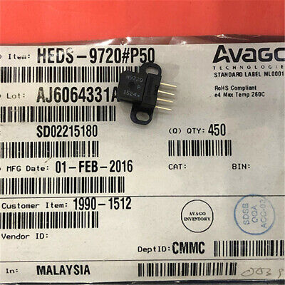 1pcs Heds-9720p50 Heds-9720-p50 2 Channel Encoder Module