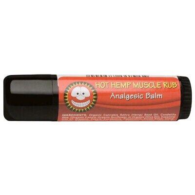 Merry Hempsters (The) Vegan Salves Hot Hemp Muscle Rub 0.6 oz. tubes