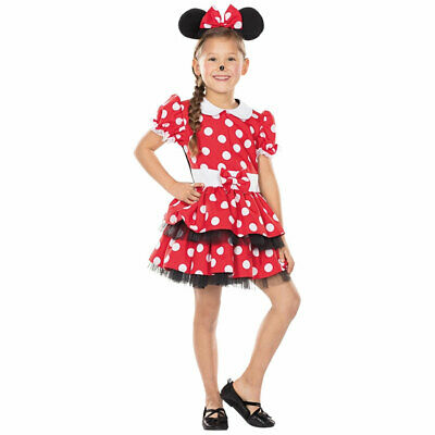 Mottoland Kinder Kostüm Mäusemädchen Fasching Karneval Halloween Verkleidung