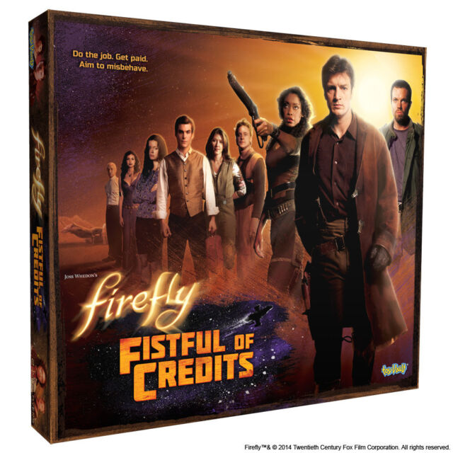 FIREFLY - Fistful of Credits Board Game (Toy Vault) #NEW