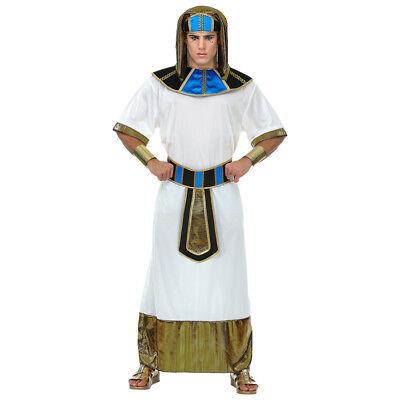 DELUXE PHARAO HERREN KOSTÜM Karneval Ägypter Ramses Tutanchamun König Gott 6945 ()