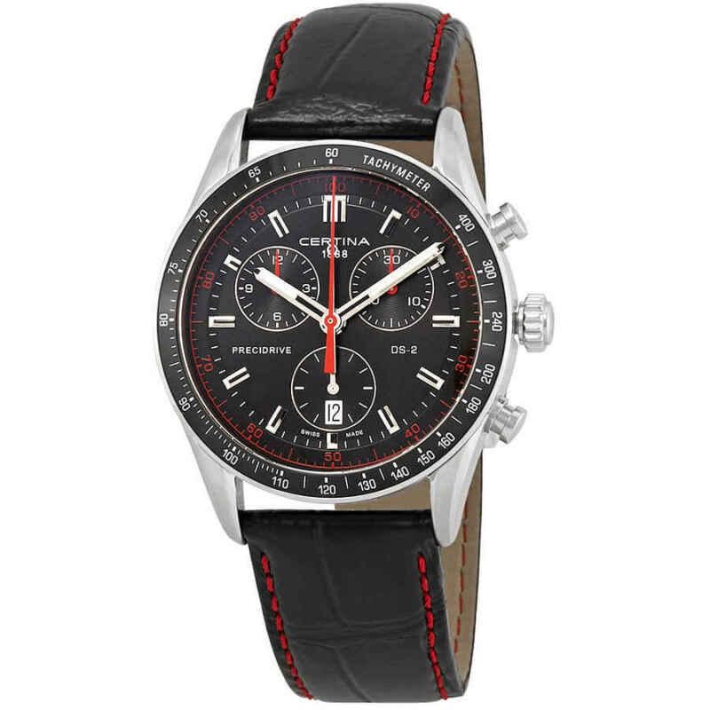 Certina DS-2 Chronograph Black Dial Men Watch C024.447.16.051.03