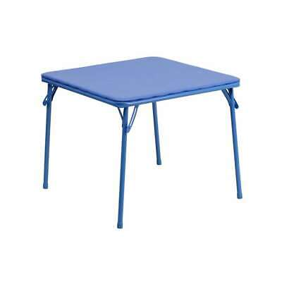 Flash Furniture Kids Blue Folding Table [JB-TABLE-GG] for sale  Shipping to India
