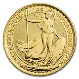2018 Great Britain 1 oz Gold Britannia BU - SKU #157157