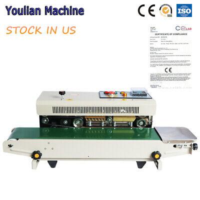 FR-770 Automatic Horizontal Continuous PVC Film Sealing machine Bag Band Sealer Continuous Bag Sealer