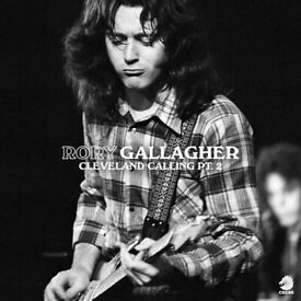 Rory Gallagher - Cleveland Calling Pt.2 Vinyl LP RSD2021 New Sealed