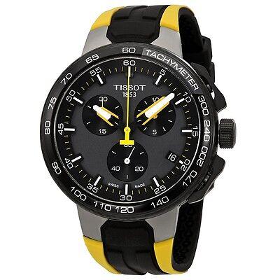 New Tissot T-Race Chronograph Cycling Tour De France Mens Watch T1114173744100