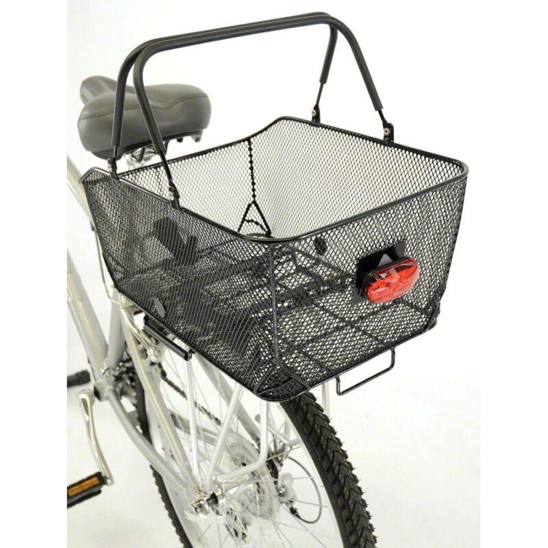 Axiom Market LX Rear Bike Basket Black Mesh