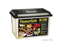 Exo Terra Faunarium - Plastic Reptile Spider Insect Tarantula Tank - Terrarium