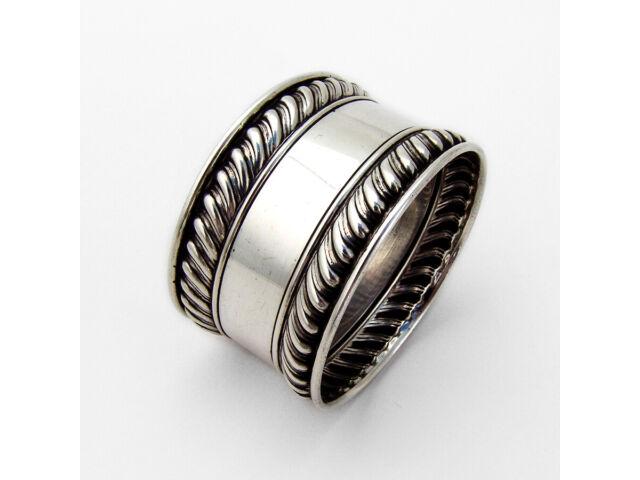 Gorham Gadroon Rim Napkin Ring Sterling Silver