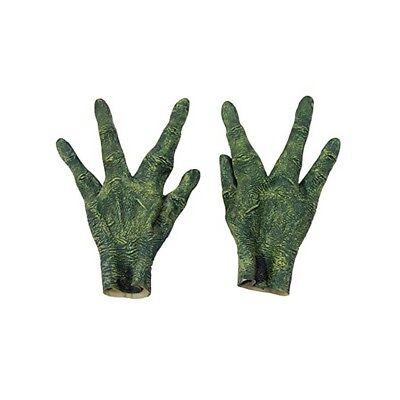 Alien Hands Costume (Alien Hands Spaceman Outer Space Monster Green Adult Halloween Costume)