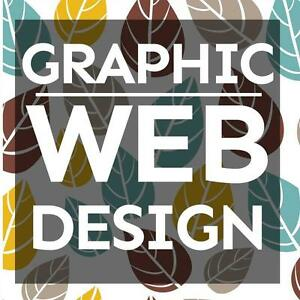 $55/hr Website and Graphic Design