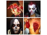Halloween SFX , Prosthetic and body painter make up artist