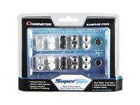 Monster SuperTips Sampler Pack Gel and foam tips for in-ear headphones