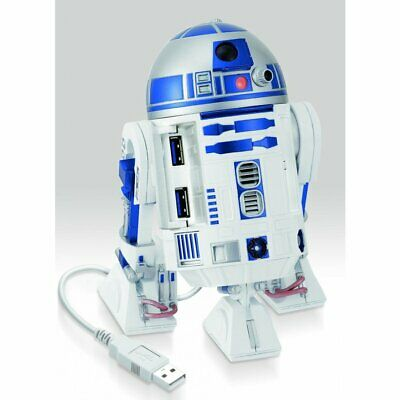 New Version  STAR WARS R2-D2 USB HUB 4 Port for USB3.0 Real Sound and Moving
