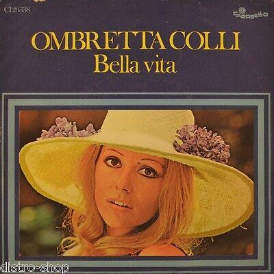 """7"""" OMBRETTA COLLI Bella Vita /Tutte Le Volte (Meno Che Una) 45rpm CAROSELLO 1972"""