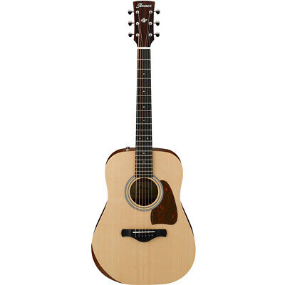 Ibanez AW50JR Open Pore Natural 6-String Acoustic Guitar w/ Gigbag, New!