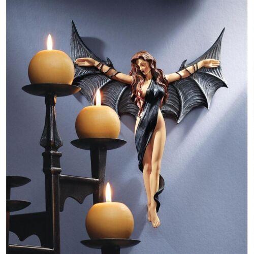 Seductress Female Vampire Dark Beauty , Vampress Femme Fatale Wall Decor