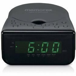 Memorex Snooze Sleep Functions Alarm Clock AM/FM Radio CD Player MC7223 NIB