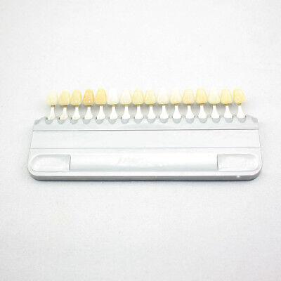 New 5 Sets Porcelain Teeth Denture Oral Dental 16 Color Shade Guide Re