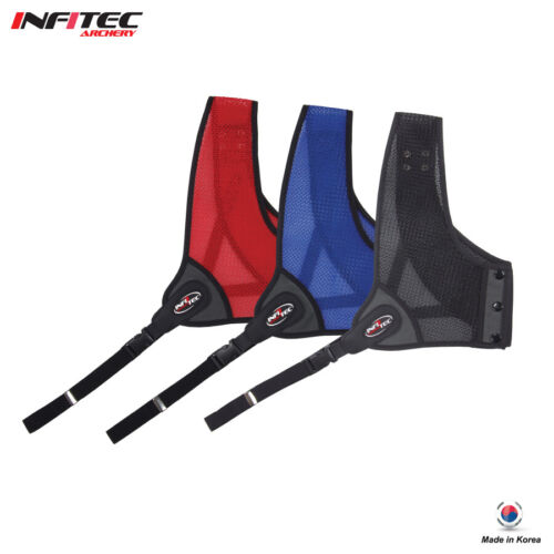 Infitec Archery Air-Mesh Double Layered Chest Guard / Made in Korea