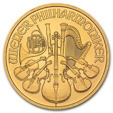 Random Year 1 oz Gold Austrian Philharmonic Coin - SKU #85597