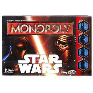 Hasbro Monopoly Star Wars The Force Awakens - NEW
