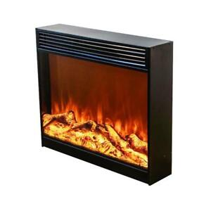 28 Electric Fireplace Insert Burner Flame Heating With Remote Control(020277)