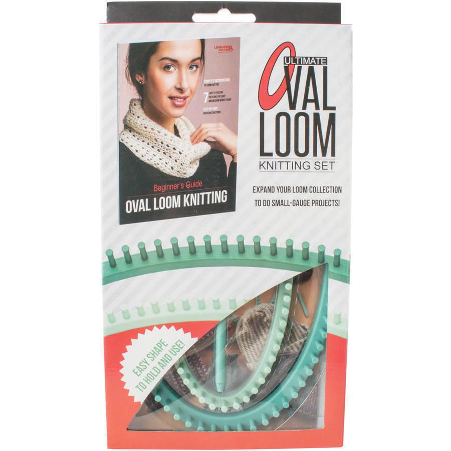 Leisure Arts La47833 Ultimate Oval Loom Knitting Set for Beginners ...