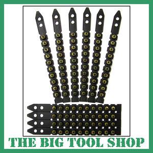BLACK STRIP CARTRIDGES / SHOTS / CAPS FOR HILTI DX460, DX 460 PACK 100