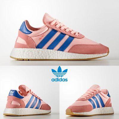 Adidas Originals INIKI Runner Shoes Athletic Running Pink BA9999 SZ 6