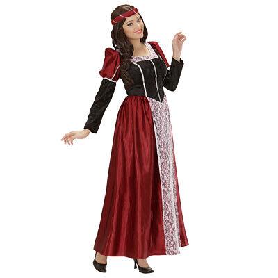 STÜM # Karneval Burgdame Burgfräulein Hofdame MA Larp Kleid (Kostüm Ma)