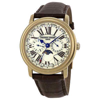 Frederique Constant Business Timer Moon phase Men's Watch FC-270EM4P5