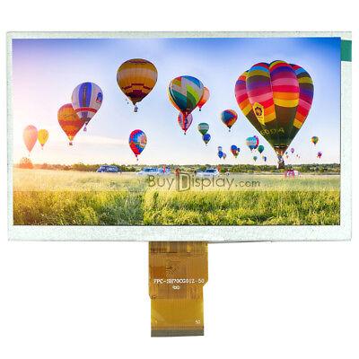 7inch 50 Pin Tft Lcd Display 1024x600 Optional Touch Panelrgbat070tna2