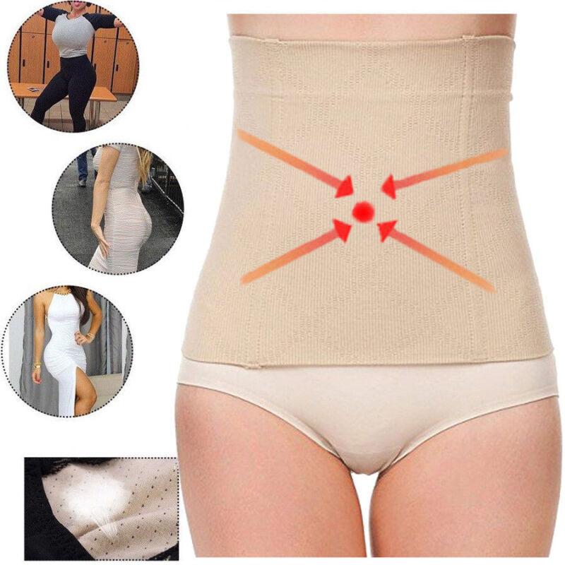 Fat Burner Sauna Tummy Tuck Belt Body Shaper Girdle Belly Sl