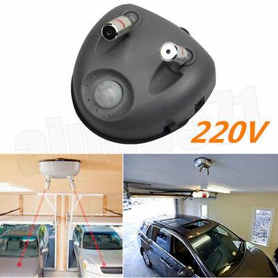 220V Laser Sensor Auto Garage Einparkhilfe Einparksensor Verkehrsampel Universal - Garage Sensor