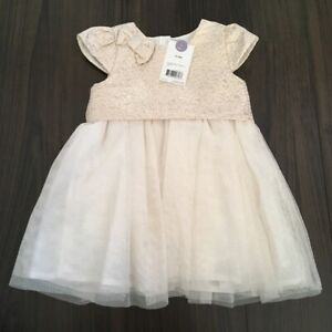 New baby party dress (12-18 or 18-24m)